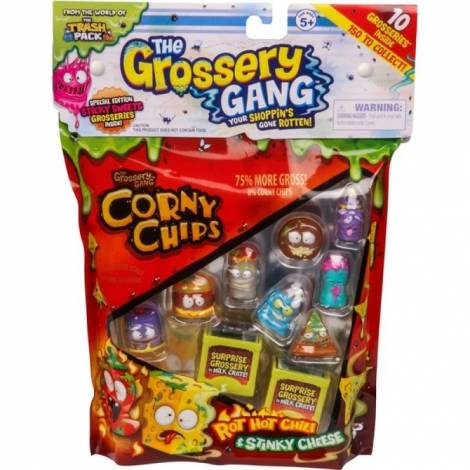 Giochi Preziosi - Grossery Gang - Corny Chips (10pcs) (gga06002)