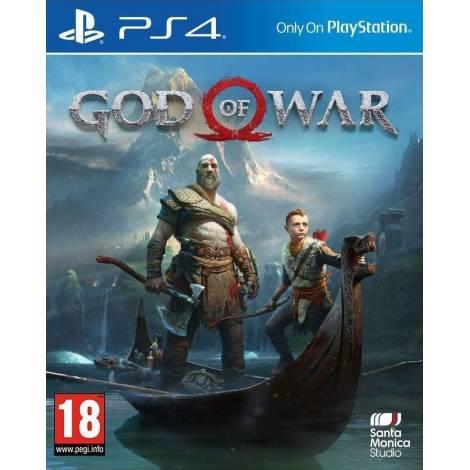 God of War (PS4)  (με Αγγλική Ομιλία και Ελληνικούς Υπότιτλους)