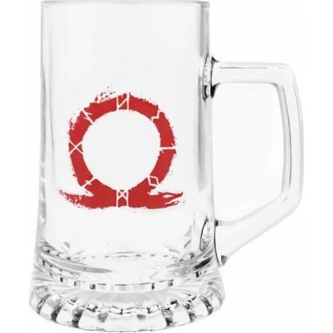 God of War - Serpent Logo Pint Glass 450ml (GE3490)