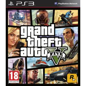Grand Theft Auto V - GTA V (PS3)