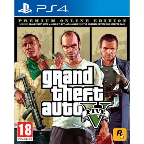 Grand Theft Auto V (Premium Online Edition) (PS4)