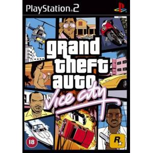 Grand Theft Auto: Vice City (CD Μονο)   (PS2)