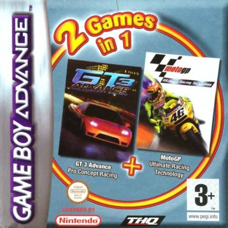 GT3 Pro Concept Racing & Moto Gp Double Pack (GAME BOY ADVANCE)