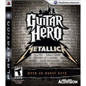 Guitar Hero - Metallica (PS3)