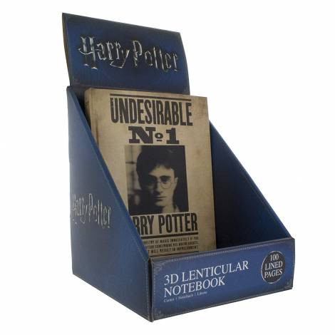 Harry Potter - 3D Lenticular Notebook (PP3859HP)