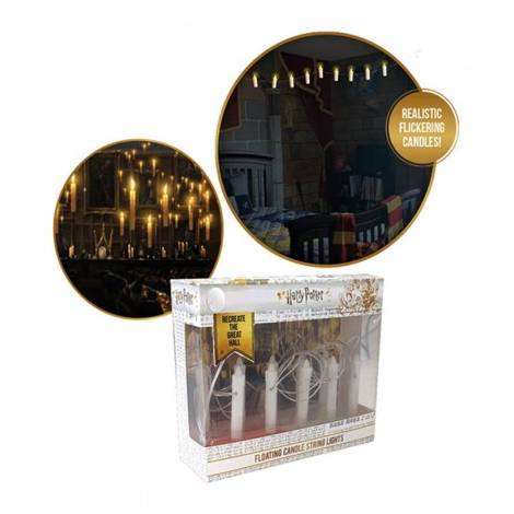 Harry Potter - Floating Candle Sting Lights (12 candles at 5cm long)
