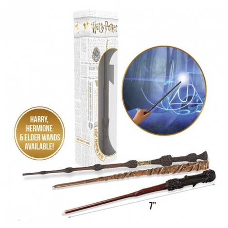 Harry Potter: Lumos Wands (7inch) - Hermione