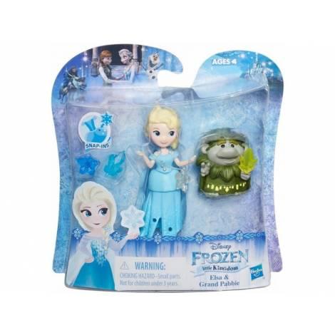 Hasbro Disney Frozen Little Kingdom Mini Figures - Elsa & Grand Pabbie Story Pack (B7467)