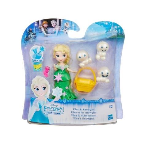 Hasbro Disney Frozen Little Kingdom Mini Figures - Elsa & Snowgies (B9875) - με χτυπημένο κουτάκι