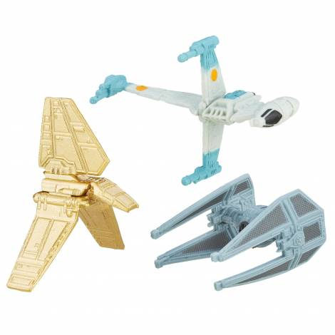 HASBRO MICROMACHINES STAR WARS RETURN OF THE JEDI - EMPIRE DEFEAT - GOLD SERIES (3pack) (B6944)