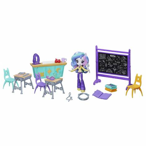 Hasbro My Little Pony Equestria Girls - Principal Celestia Lessons and Laughs Class Set (B9494)