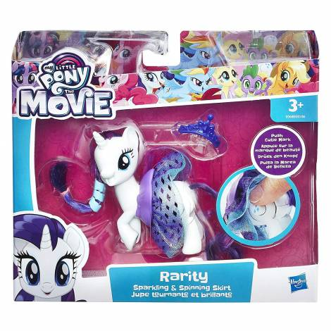 Hasbro My Little Pony Sparkling & Spinning Skirt - Rarity (E0688)