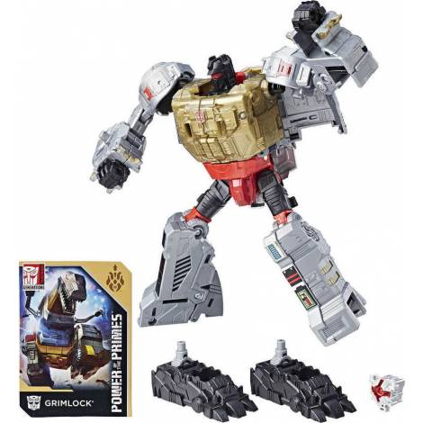 Hasbro Transformers Generations Power of the Primes Voyager Class - Dinobot Grimlock Figure (E1136)