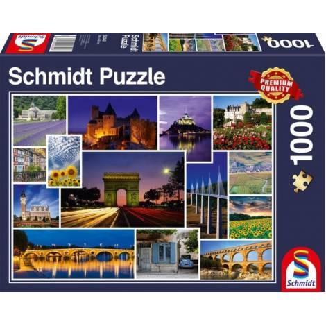 Have a Holiday in France 1000pcs (58340) Schmidt