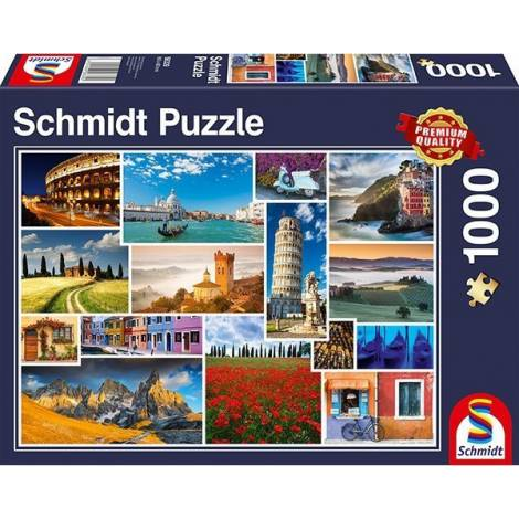 Have a Holiday In Italy 1000pcs (58339) Schmidt
