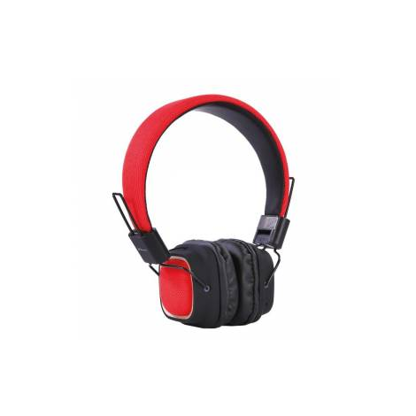 Headphone Digital Element HD-800 Fabric Bluetooth Red  (PC)