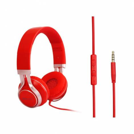Headphone Element HD-670 Red Wired 3,5 Jack  (PC)
