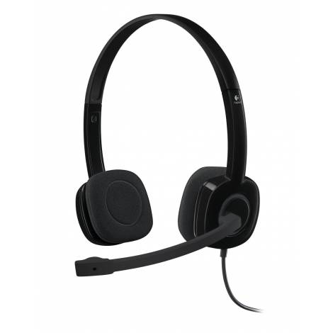 HEADSET LOGITECH PC H151 (981-000589)