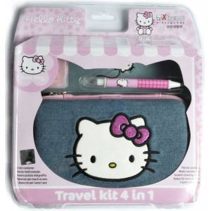 Hello Kitty - Travel Kit 4 In 1 For Nintendo DSLite (NINTENDO DS)