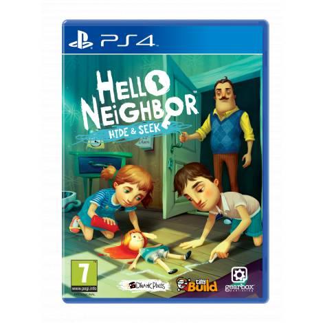 HELLO NEIGHBOR HIDE N SEEK (PS4)