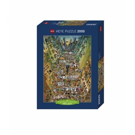 HEYE Puzzle 29820  Διαμαρτυρία - Degano (2000 pcs)