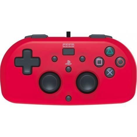HORI (PS4-101E) GAMEPAD MINI  PS4 CONTROLLER  (RED)