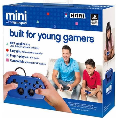 HORI (PS4-100E) GAMEPAD MINI  PS4 CONTROLLER  (BLUE)