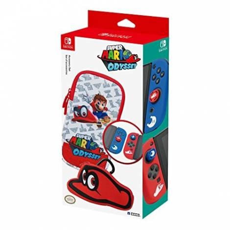 Hori Super Mario Odyssey Accessory Set (NSW-073U) (NINTENDO SWITCH)