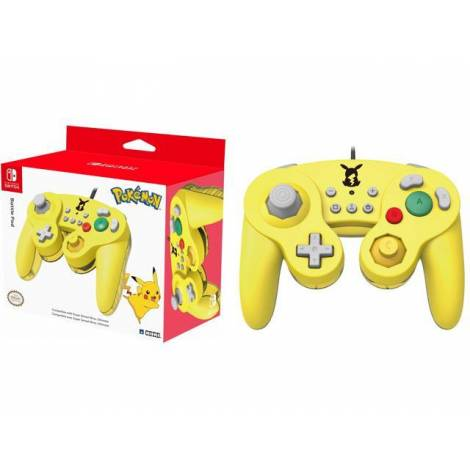 Hori Wired BattlePad For Smash Bros Ultimate - Pikachu Edition (NINTENDO SWITCH) (NSW-136U)