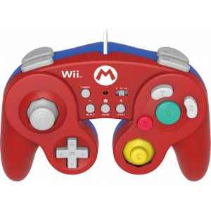HORI (WIU-075U) SUPER SMASH BROS. CONTROLLER FOR WII U (MARIO) (Wii U)