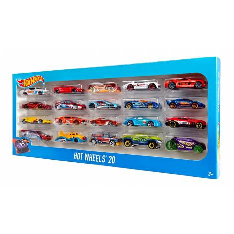 HOT WHEELS - 20 CAR GIFT PACK (H7045)