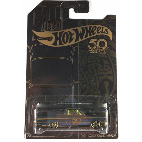 Hot Wheels 50th Anniversary Black & Gold - '65 Ford Panchero (FRN39)