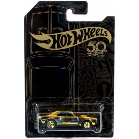 Hot Wheels 50th Anniversary Black & Gold - '67 Camaro (FVJ36)