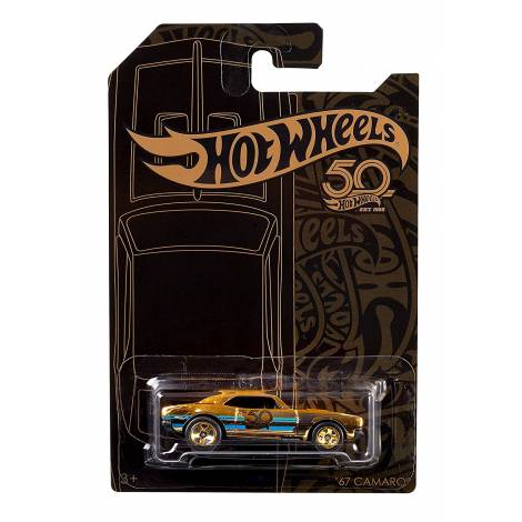 Hot Wheels 50th Anniversary Black & Gold - Bone Shaker (FRN34)