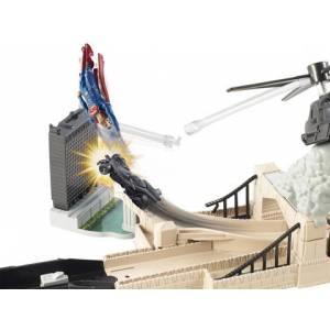 HOT WHEELS BATMAN VS SUPERMAN - BATMOBILE CITY CHASE PLAYSET (DJH61)