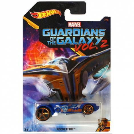 HOT WHEELS CAR MARVEL GUARDIANS OF THE GALAXY VOL.2 - ROCKETFIRE (DWD78)