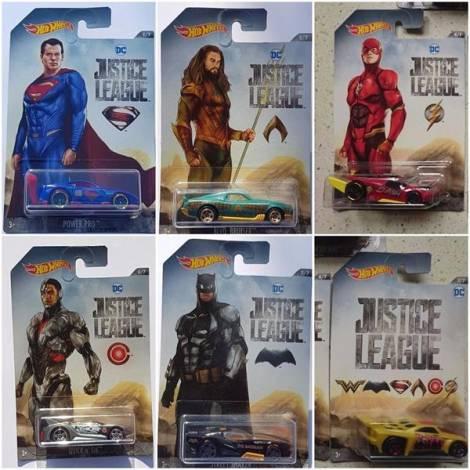 Hot Wheels - DC Justice League - Bassline 7/7 (DWD08)