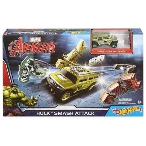 Hot Wheels Marvel Avengers - Hulk Smash Attack (DKT29)
