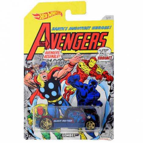Hot Wheels The Avengers - Black Panther-Qombee (FKD55)
