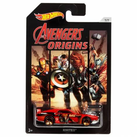 Hot Wheels The Avengers - Black Widow-Rivited (FKD50)