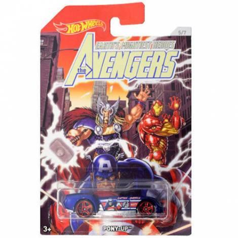 Hot Wheels The Avengers - Captain America-Pony Up (FKD53)
