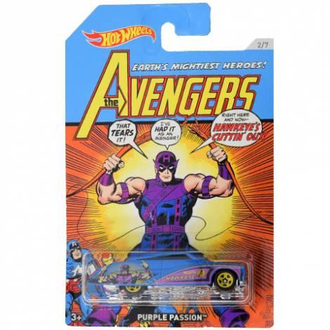 Hot Wheels The Avengers - Hawkeye-Purple Passion (FKD51)
