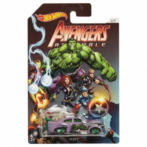 Hot Wheels The Avengers - Hulk-Jaded (FKD56)