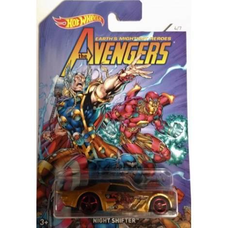 Hot Wheels The Avengers - Iron Man-Night Shifter (FKD54)