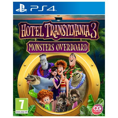 Hotel Transylvania 3 Monsters Overboard (PS4)