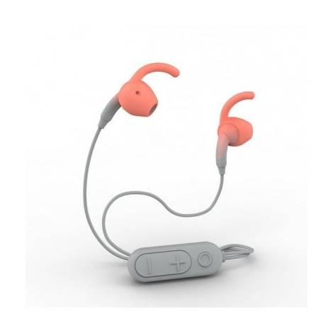 IFROGZ Sound Hub Tone Wireless Earbuds - Gray/Coral