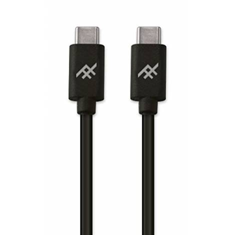 iFrogz USB Type C To USB Type C Cable 1.8m Black (IFUSCR-BK3)