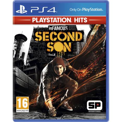 InFamous Second Son Playstation Hits (PS4)