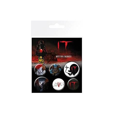 IT Button Mix Badges (6 pins) (BP0745)