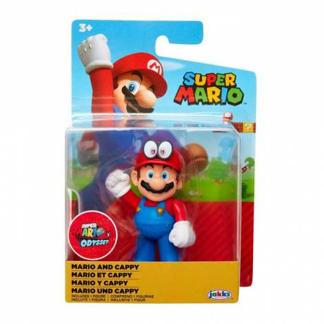 Jakks - Super Mario & Cappy Figure (40108)